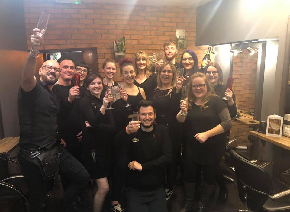 Andrew Bayliss Hairdressing Team